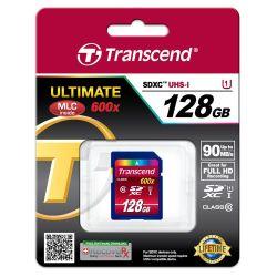 Transcend TS128GSDXC10U1 flashgeheugen 128 GB SDXC Klasse 10 MLC