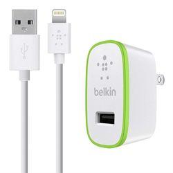 Belkin USB 2.0, Lightning, 12 W, 2.4 A, Wit