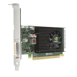 HP NVIDIA Quadro NVS 315 1GB x16 graphics card LP (CUDA. Parallel Processor Cores 48))(DMS-59 to 2xDVI-I + DMS-59 to 2xVGA) - 2D
