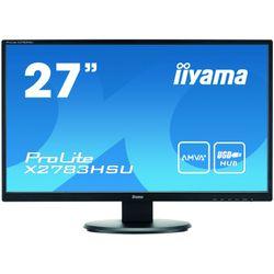 """iiyama ProLite X2783HSU 27"""" Full HD AMVA+ Mat Zwart computer monitor"""