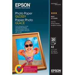 Epson Photo Paper Glossy - A3 - 20 sheets Glans pak