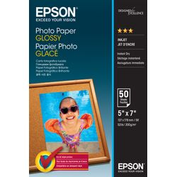 Epson Photo Paper Glossy - 13x18cm - 50 sheets Glans pak