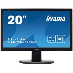 iiyama ProLite E2083HSD-B1 LED display 49,5 cm (19.5