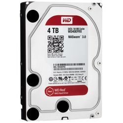 Western Digital Red 4000GB SATA III interne harde schijf-WD40EFRX