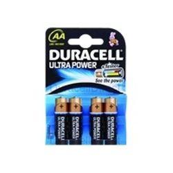 Duracell Ultra Power AA 4 Pack Alkaline 1.5V niet-oplaadbare