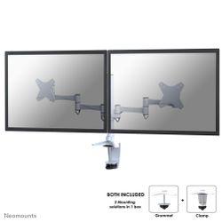 Newstar FPMA-D1330DWHITE flat panel bureau steun 68,6 cm