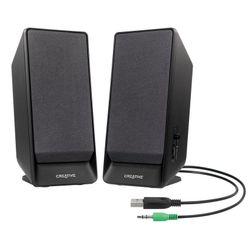 Creative Labs 2.0 luidsprekersysteem met stroomvoorziening via USB