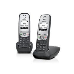 Gigaset A415 Duo DECT-telefoon Zwart, Zilver