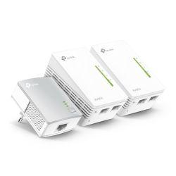 TP-LINK TL-PA4010 + 2x TL-WPA4220 500Mbit/s Ethernet LAN
