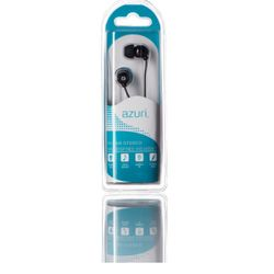 Azuri Handenvrij stereo hoofdtelefoon - zwart - 3.5 mm -
