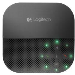 Logitech P710e luidspreker telefoon Mobiele telefoon Zwart USB/Bluetooth