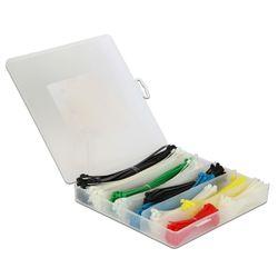 DeLOCK 18629 Nylon Multi kleuren 600stuk(s) kabelbinder