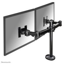 """Newstar FPMA-D960DG 27"""" Zwart flat panel bureau steun"""