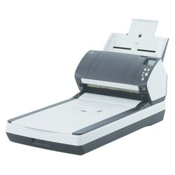 Fujitsu fi-7280 Flatbed-/ADF-scanner 600 x 600 DPI A4 Zwart, Wit