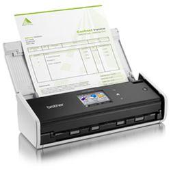 Brother ADS-1600W ADF scanner 600 x 600DPI A4 Zwart, Wit