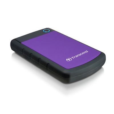 Transcend StoreJet 25H3P (USB 3.0), 2TB externe harde schijf