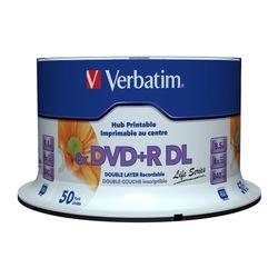 Verbatim DVD+R Double Layer Inkjet Printable 8x Life Series