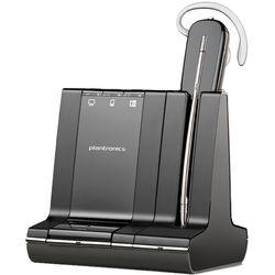 Plantronics W745-M. Headset type: Monauraal, Draagwijze: oorhaak, Kleur van het product: Zwart. Verbindingstechnologie: Bluetoot