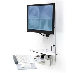 Ergotron 61-080-062 flat panel bureau steun Wit