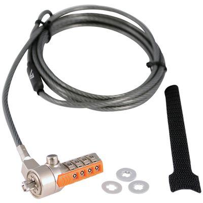 V7 SLC4000-13EB kabelslot Grijs 2 m