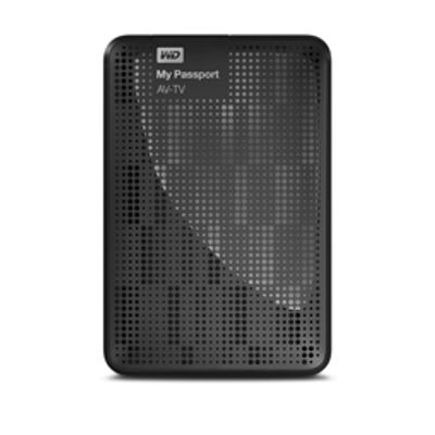 Western Digital My Passport AV-TV 1TB externe harde schijf