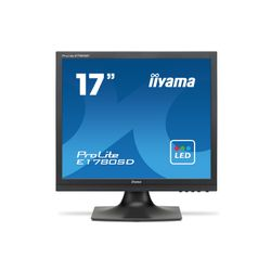 """iiyama ProLite E1780SD-B1 17"""" TN Zwart computer monitor"""