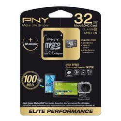 PNY 32GB MicroSD 32GB MicroSD UHS Klasse 10 flashgeheugen
