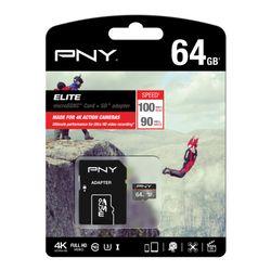 PNY 64GB MicroSD 64GB MicroSD UHS Klasse 10 flashgeheugen