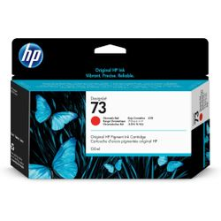 HP 73 chromatisch rode DesignJet , 130 ml inktcartridge