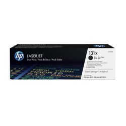 HP 131X originele high-capacity zwarte LaserJet tonercartridges, 2-pack