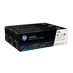 HP 131A originele cyaan/magenta/gele LaserJet tonercartridges, 3-pack