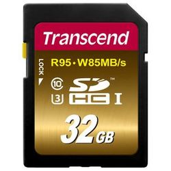 Transcend 32GB, SDHC UHS-I (U3) 32GB SDHC UHS Klasse 10