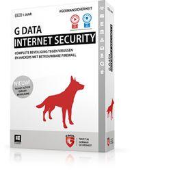 G DATA Internet Security, 1PC, 1 Year, Box 1jaar Nederlands