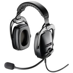 Plantronics SHR 2083 Headset Hoofdband Zwart