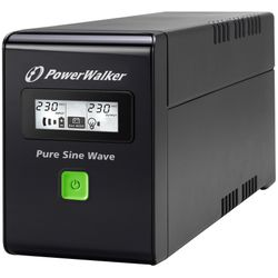 PowerWalker VI 600 SW Schuko 600VA/360W Line-Interactive UPS