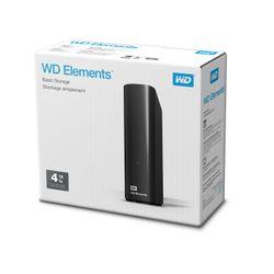 Western Digital WD Elements Desktop 3.5 Inch Externe HDD, 4TB externe harde schijf