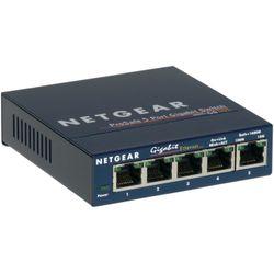 Netgear ProSAFE Unmanaged Switch - GS105 - Desktop - 5 Gigabit Ethernet poorten 10/100/1000 Mbps
