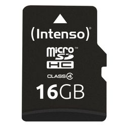 Intenso 16GB Micro SDHC Class 4 16GB MicroSDHC Klasse 4