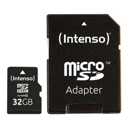 Intenso 32GB MicroSDHC 32GB MicroSDHC Klasse 10