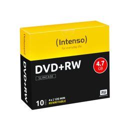 Intenso DVD+RW 4.7GB, 4x 4.7GB DVD+RW 10stuk(s)