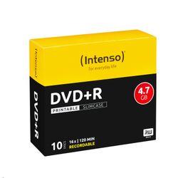 Intenso DVD+R 4.7GB, Printable, 16x 4.7GB DVD+R 10stuk(s)