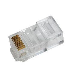 LogiLink RJ45 RJ45 Transparant kabel-connector