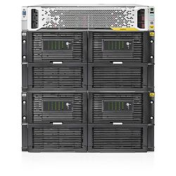 HPE StoreOnce 4900 60TB Backup Base System 60000GB Rack (7U) Zwart, Roestvrijstaal disk array
