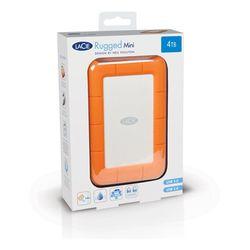 LaCie Rugged Mini externe harde schijf 2000 GB Oranje, Zilver