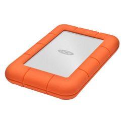 LaCie Rugged Mini, 2TB externe harde schijf 2000 GB Aluminium, Oranje