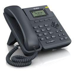 Yealink SIP-T19P Zwart Handset met snoer LCD IP telefoon