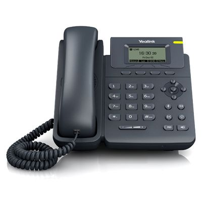 Yealink SIP-T19P IP telefoon Zwart Handset met snoer LCD