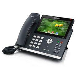 Yealink SIP-T48G Handset met snoer LED Zwart IP telefoon