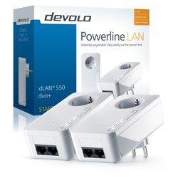 Devolo dLAN 550 duo+ Starter Kit 500Mbit/s Ethernet LAN Wit