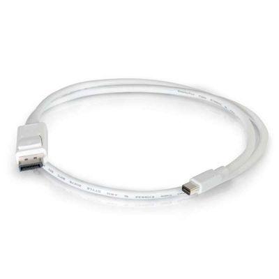 C2G 2m, Mini DisplayPort - DisplayPort Wit
